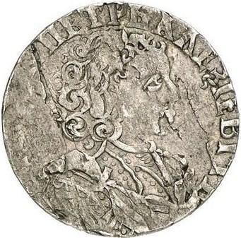Шестак 1707 г. Для Речи Посполитой (Петр I).