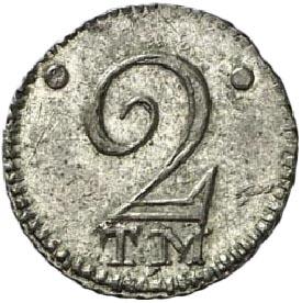 2 копейки 1787 г. ТМ. Таврические монеты (Екатерина II).